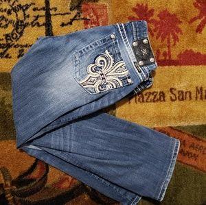 💥 Miss me sz 31 embellished pockets